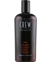 Средство для волос и тела 3 в 1 American Crew Classic 3-in-1