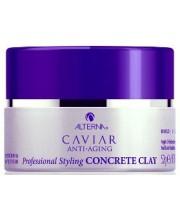 Глина сильної фіксації з екстрактом Чорної Ікри без сульфатів Alterna Caviar Style Concrete Extreme Definition Clay