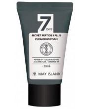 Очищающая пенка с пептидным комплексом May Island Peptide 8 Plus Cleansing Foam