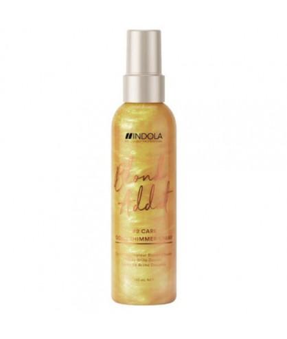 Спрей для придания золотого блеска Indola Blond Addict Gold Shimmer Spray
