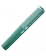 Гребінець для стрижки Y.S. Park YS-339 Green, 18 см