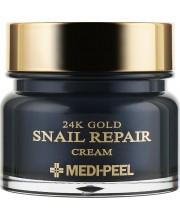 Омолаживающий крем для лица с золотом и муцином улитки Medi-Peel 24k Gold Snail Repair