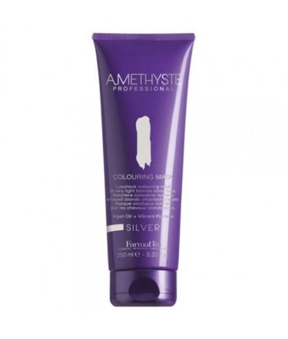 Маска для светлых (серебристых) оттенков волос FarmaVita Amethyste Colouring Mask Silver