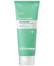 Очищающая пенка c 5 видами центеллы Dr.G pH Cleansing R.E.D Blemish Clear Soothing Foam