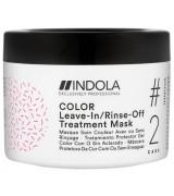 Маска для фарбованого волосся Indola Innova Color Leave-in Treatment