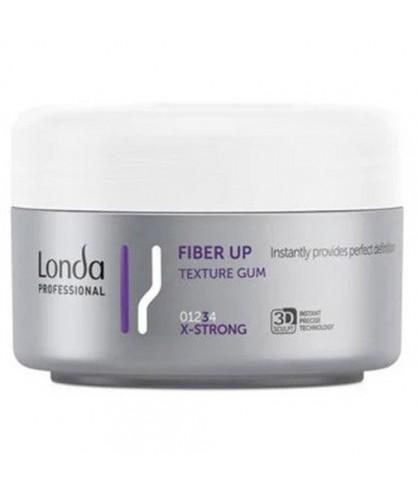Волокнистий гель для волосся екстрасильної фіксації Londa Professional Fiber Gum Fiber Up