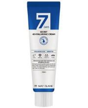 Крем для лица с гиалуроновой кислотой May Island 7 days Secret 4D Hyaluronic Cream