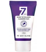 Очищающая пенка для лица с коллагеном May Island 4D Collagen Cleansing Foam