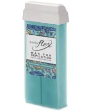 Віск касетний Ital Wax Flex Aquamarine, 100 мл